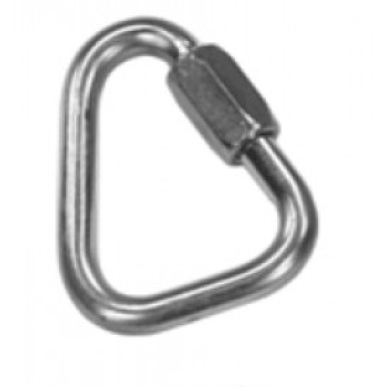 1780 - 9mm Delta Link - Plated Steel
