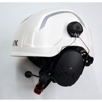 Tufftalk Lite Hard Hat Mounted Earmuff System