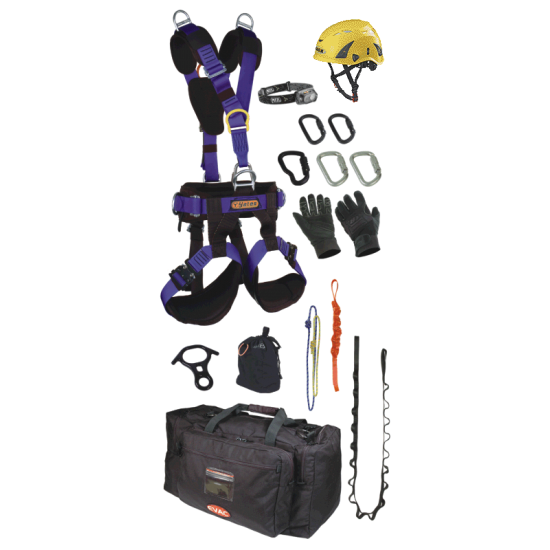 8020 Rescuer Personal Equipment Kit (w/Voyager Harness)