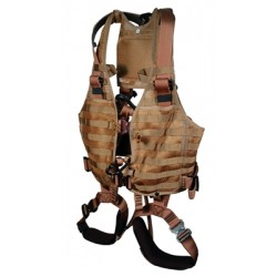 LB Vest with Integrated Harness