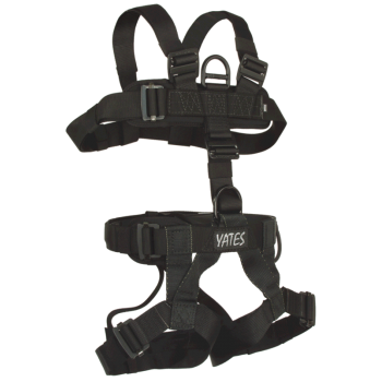 352B Padded Lightweight Assault Full Body Harness with read waist pad D ring. (Sizes S-XL)