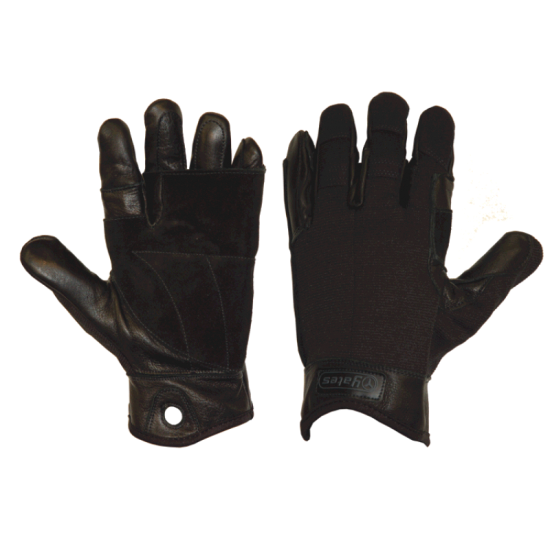 925B YATES Tactical Rappel / Fast Rope Gloves (Black)
