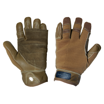YATES Tactical Rappel / Fast Rope Gloves (Tan)
