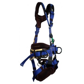 390FRA Arc Flash Rated Rope Access Lineman Harness