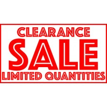 SALE ITEMS - Limited Quantities